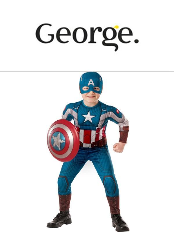 Stroje karnawałowe dla dzieci firmy George