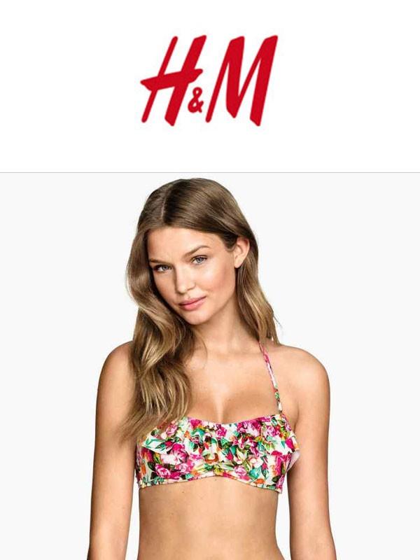 Stroje kąpielowe firmy H&M