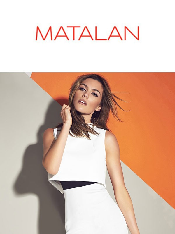 Outlet odzieży damskiej 2015/2016 firmy Matalan