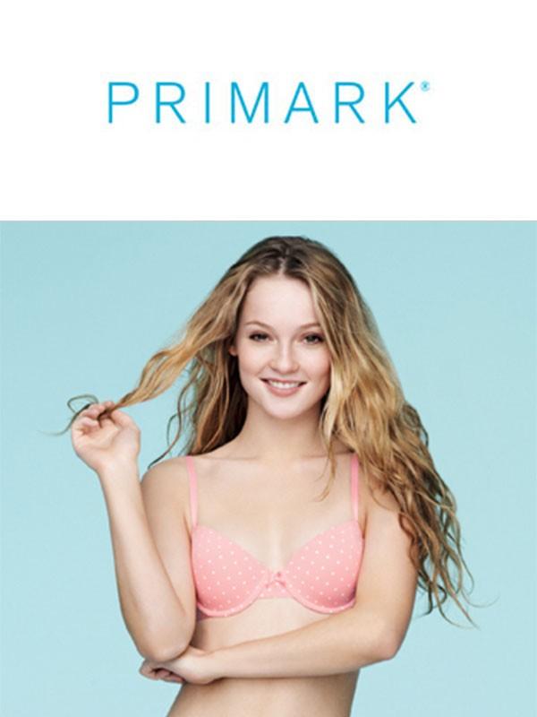 Bielizna damska firmy Primark