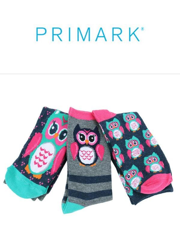 Rajstopy i skarpety dziecięce firmy Primark