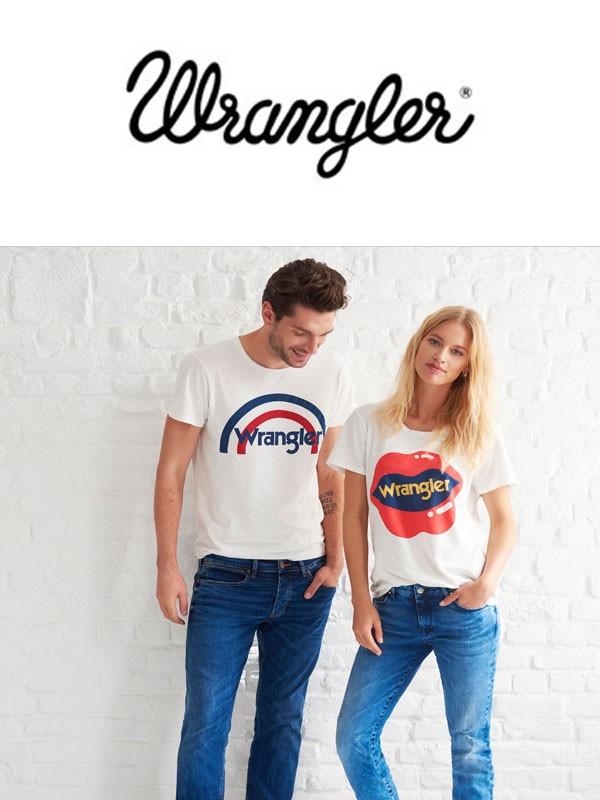 Mix odzieży damsko-męskiej 2016 firmy Wrangler